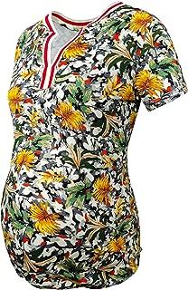 Yaprak Desenli Kamuflaj Tişört