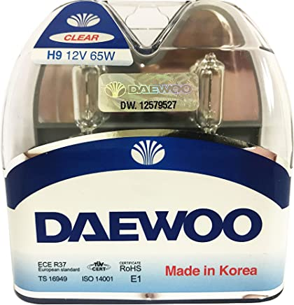 DAEWOO H9 12V 65W Headlight Bulb, 2 pieces 1 set