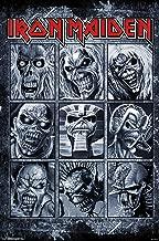 Trends International Iron Maiden - Album Grid Wall Poster, 22.375