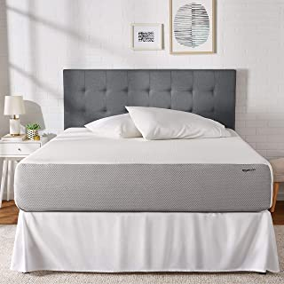 AmazonBasics Memory Foam Mattress - Soft, Plush Feel, CertiPUR-US Certified - 12