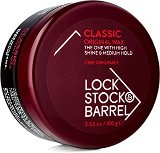 Lock Stock & Barrel Original Classic Wax, 3.53 ounces / 100 grams