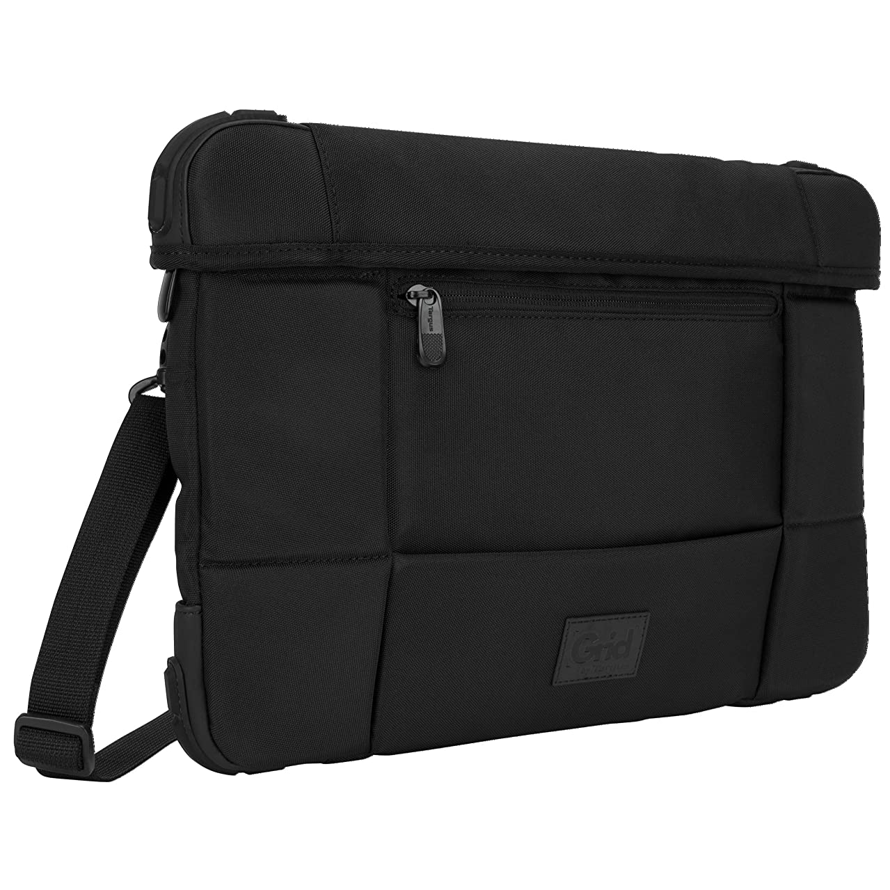 Targus Grid Mil Spec Rugged Slipcase for Laptops Up To 14.1 Inches, Black (TSS846)