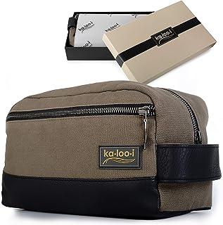 dbbc7f6680 Toiletry Bag for Men - Canvas Dopp Kit for Travel