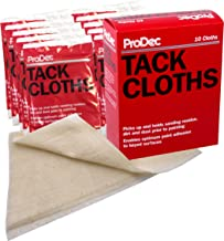 ProDec PTR10P Tack Cloths, Cream, Set of 10 Pieces