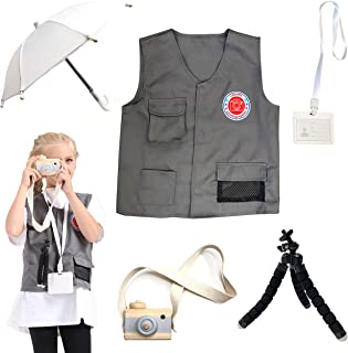 Sponsored Ad - DRESS 2 PLAY Pretend Costume Dress Up Set with Accessories for Kids