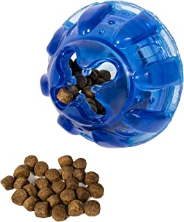 Franklin Pet Supply Treat and Play Dog Toy Ball – Treat – Play Fetch – Dog Teething – Puppy Chew – Ultra Tough – Hide a Treat