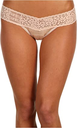 Hanky Panky Logo To Go Modal Low Rise Thong