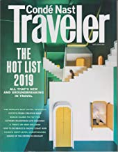 Conde Nast Traveler May June 2019 The Hot List Issue (Captial One Outer Ad Before Cover Ready. Set. Getaway)