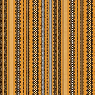 Happy Halloween Orange Trimmings by Patrick Lose 100% Cotton Fabric by The Yard