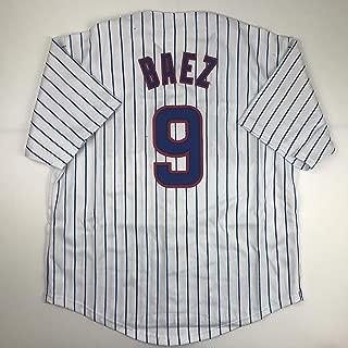 javier baez signed baseball