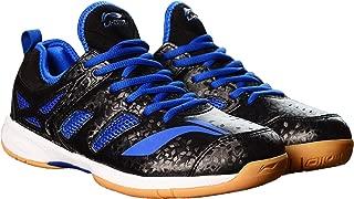 Li-Ning Brio ll Badminton Shoe, 8 UK (Black/Blue)