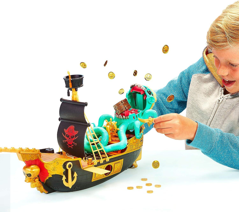 Treasure X Sunken Gold Treasure Ship Playset - Finding Hidden Treasures in the ship