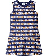 Moschino Kids - Dress w/ All Over Toy Lettering Print (Big Kids)