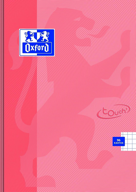Oxford Touch Pastel 400123213 Lot de 5 cahiers A5 60 pages quadrill/ées