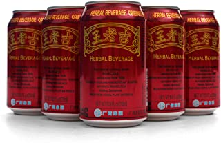 Wangloaji Herbal Tea - Chinese Herbal Tea - Jia Duo Bao Alternative/Wong Lo Kat - China's Best Herbal Tea - Wang Lao Ji - Canned Cooling Tea/Liangcha - (24 cans/case)