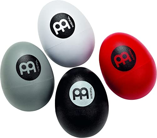 Meinl 4-Piece Egg Shaker Four Different Volumes for Cajon, Drumset, and Singer Songwriters-NOT MADE IN CHINA-Live or Studio Use, 2-YEAR WARRANTY, ES-SET product image
