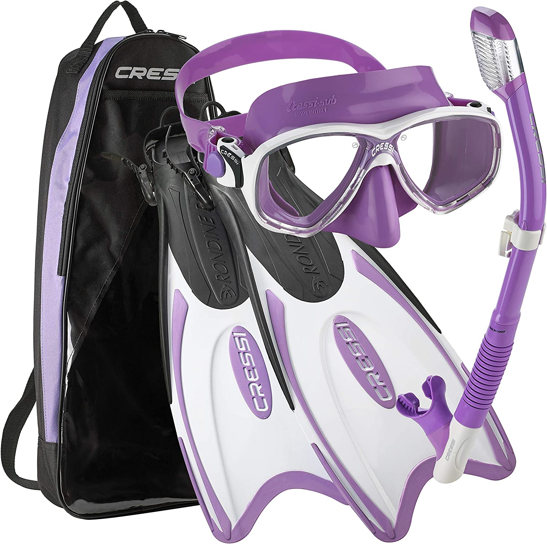 Cressi Palau Atlanta Mall Long Mask Colorado Springs Mall Fin Set Snorkel
