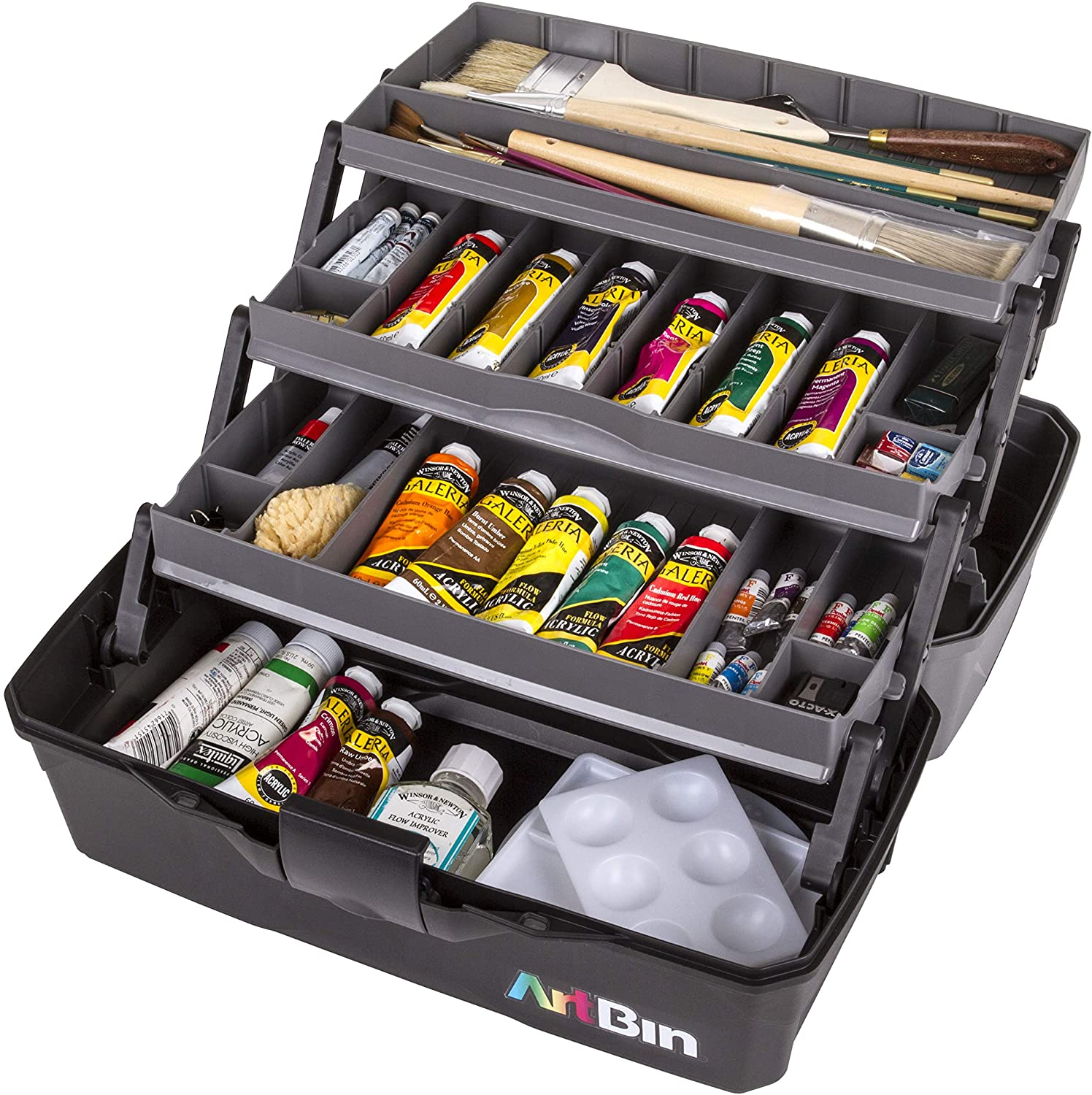 List price ArtBin 6893AG 3 Art Supply w Organizer Craft Our shop OFFers the best service Portable Box