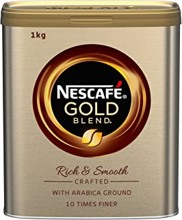NESCAFé 雀巢 Gold 混合速溶咖啡 罐裝, 1 kg