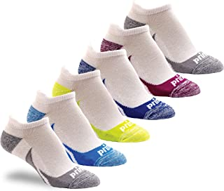 Sponsored Ad - Prince Women's Low Cut Tab Athletic Socks with Cushion for Running, Tennis, and Casual Use (6 Pair Pack)