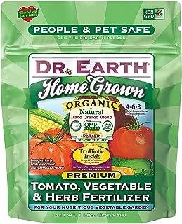 Dr. Earth Organic & Natural MINI Home Grown Tomato, Vegetable & Herb Fertilizer ( 1 lbs )