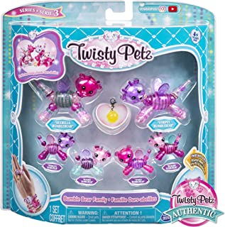 Twisty Petz, Series 3, Bumble Bear Family Pack Collectible Bracelet Set for Kids Aged 4 and Up
