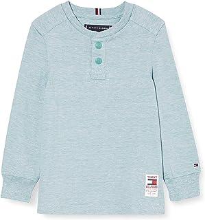 Tommy Hilfiger Structured Henley L/S Camisa para Niños