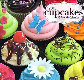 Cupcakes - 2015 16 Month Calendar + Free Bonus 2015 Magnetic Calendar