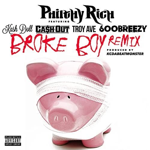 Broke Boy (Remix) [Explicit] by Ca$h Out, Troy Ave