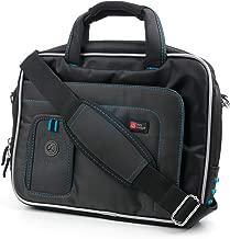 DURAGADGET Protective Secure Adjustable Shoulder Strap Bag Case for Panasonic Toughbook CF-D1 MK1 Outdoor Tablet (Intel Core i5-2520M vPro 2.5 GHz Processor) - in Blue/Black, with Storage Space