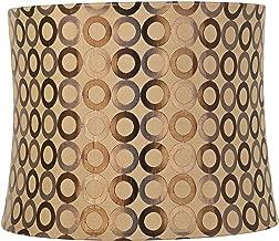 Copper Circles Drum Lamp Shade 13x14x11 (Spider) - Springcrest