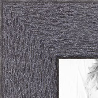 ArtToFrames 8x12 inch Tungsten Style Picture Frame, WOMBW26-443-8x12