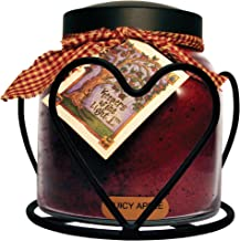 A Cheerful Giver Heart Candle Jar Holder
