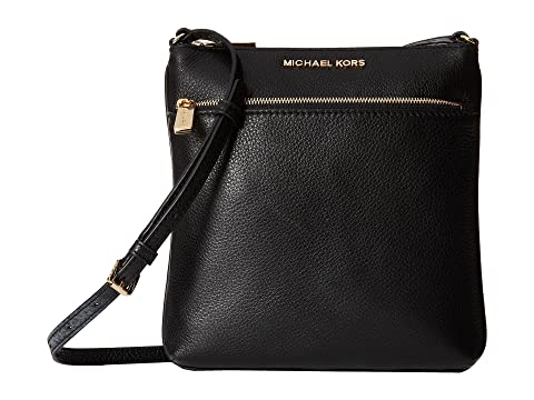 MICHAEL Michael Kors Riley Small Flat Crossbody at Zappos.com 0f99ffe417b21