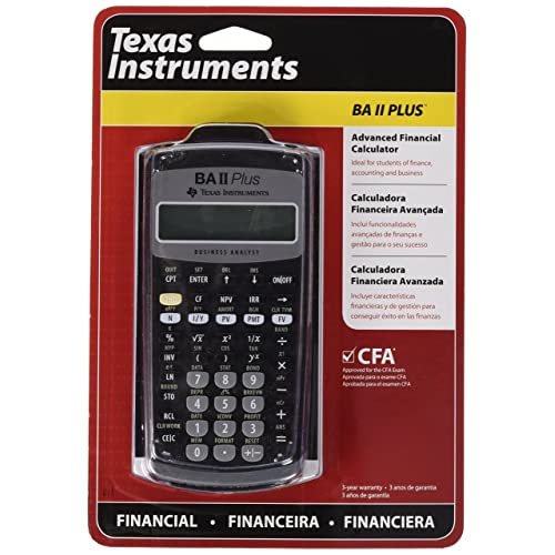 Business & Industrial Learned Texas Instruments Ba-ii Plus Financial Calculator New No Box