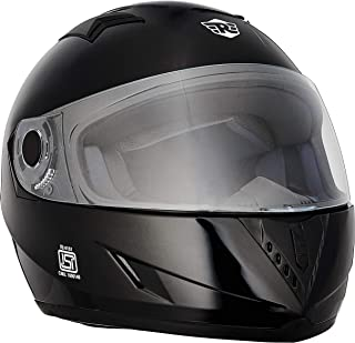 Royal Enfield Glossy Black Full Face Helmet Size (XL)62 CM (RRGHEI000091)