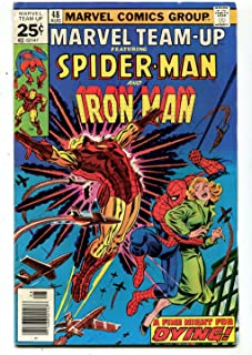 Marvel Team-Up #48 FN Spider-Man Iron Man A Fine Night For Dying Marvel CBX7