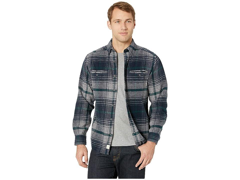 Woolrich Eco Rich Twisted Oxbow Shirt (Deep Indigo) Men