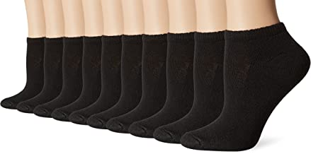 10 Pack Cushioned Women's Athletic Socks - Low-Cut (Size 5-9/