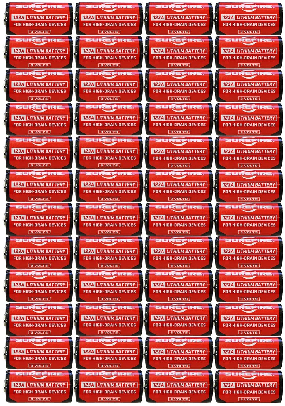 SureFire SF123A Lithium gift Batteries Max 62% OFF 48-Pack