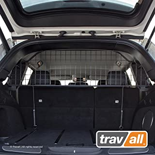 Travall Guard Compatible with Jeep Grand Cherokee (2010-Current) Grand Cherokee SRT (2011-Current) TDG1539 - Rattle-Free Steel Pet Barrier