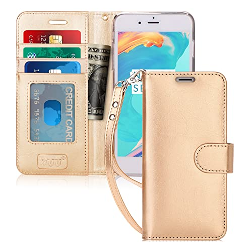 59af9d13727d FYY Luxury PU Leather Wallet Case for iPhone 6S Plus/iPhone 6 Plus, [