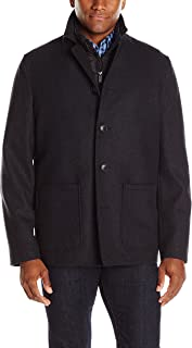 Nick Graham Men's Triboro 3 in 1 Wool Jacket with Vest
