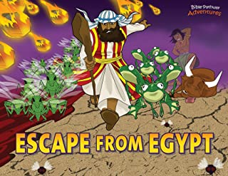 Escape from Egypt: Moses and the Ten Plagues (1) (Defenders of the Faith)