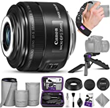 Canon EF-S 35mm f/2.8 Macro is STM Lens with Altura Photo Essential Accessory Bundle