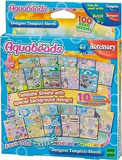 Aquabeads Designer Template Sheet