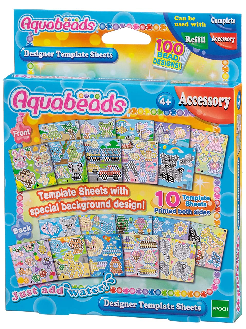 Aquabeads Designer Template Sheet