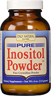 Only Natural Pure Inositol Powder, 4 Ounce