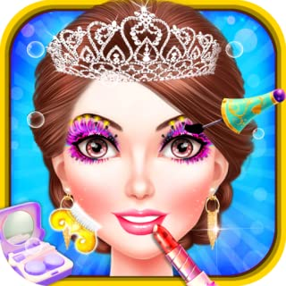 Princess Palace Salon Makeover : Spa, makeup and dress up game for little princesses !