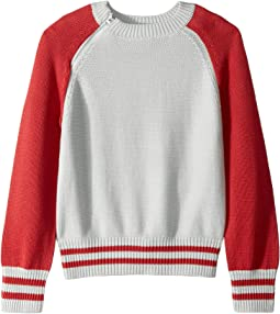 Raglan Colorblock Sweater (Big Kids)